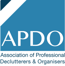APDO Association of Professional Declutterers & Organisers logo