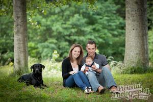 Unique Family Portraits at Wedderburn Castle for...