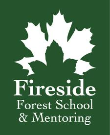 Fireside Forest School and Mentoring logo