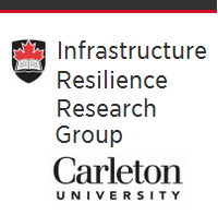 Infrastructure Resilience Research Group (IRRG), Office of the Dean, Faculty of Engineering and Design, Carleton University  logo