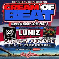 CREAM OF BEAT REUNION - 4TH OF JULY WEEKEND...