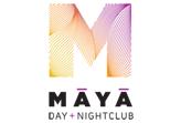 Maya Day + Nightclub, Steve LeVine Entertainment & Disco Donnie Presents logo