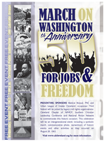 MARCH ON WASHINGTON FOR JOBS & FREEDOM 50TH...