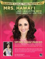 Kaimuki Third Fridays Presents - Mrs. Hawai'i 2013...