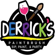 Derrick's Paintbrush logo
