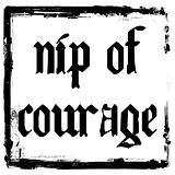 Nip of Courage logo