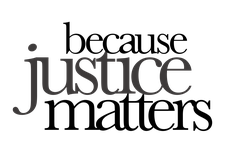 Because Justice Matters logo