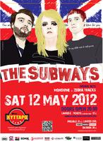 The Subways (UK)live  in Athens: Sat. 12 May@ Kyttaro!
