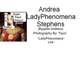 "Andrea *LadyPhenomena* Stephens Presents--""Egyptian..."
