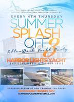 SUMMER SPLASH NEW YORK CITY AFTER WORK CRUISE YACHT PAR...