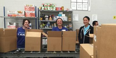 Volunteer at Food Bank for Larimer County w/ Project...