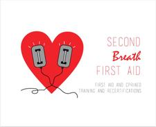 SECOND BREATH FIRST AID logo
