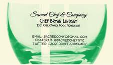 Sacred Chef And Company logo