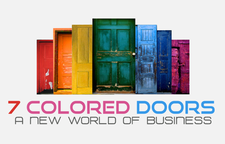 7 Colored Doors Club logo