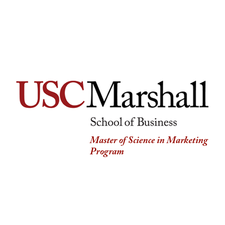 USC Marshall MS in Marketing Program logo