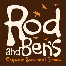 Rod and Ben's Organic Seasonal Foods logo