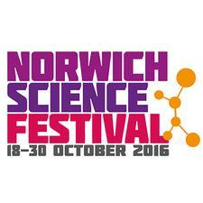 Norwich Science Festival 2016 logo
