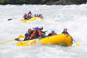 August 18 - August 25, 2012 - OAK Camp -White-Water Rafting...