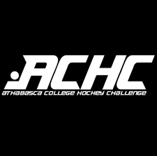 Athabasca College Hockey Challenge committee logo