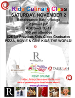 Renaissance Baton Rouge Kids Culinary Class