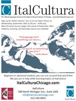 Italian Classes - Fall Open House at ItalCultura