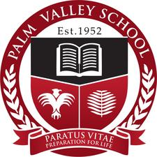 The Palm Valley School  logo