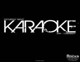 Saturday Night Karaoke Party @ On The Rocks Bar &...