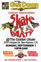 The Saturday Night Get Down Listener Appreciation Skate...
