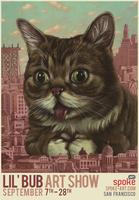 Lil Bub art show and book signing!