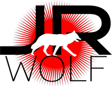 JR WOLF logo