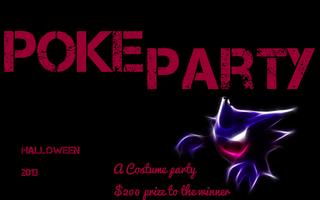 Halloween  PokeParty