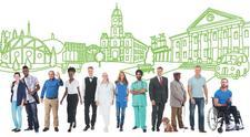 Kirklees Democracy Commission logo