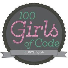 100 Girls of Code Conyers logo