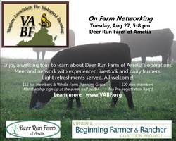 Deer Run Farm of Amelia - On-Farm Networking (Beef,...