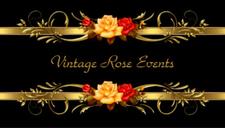 Vintage Rose Events and Crystal Carmen™ logo