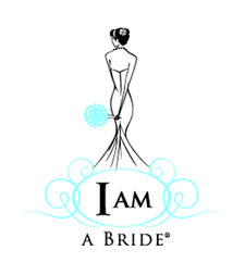 I AM A BRIDE WEDDING logo