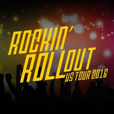 Invacare's Rockin' Rollout Productions logo