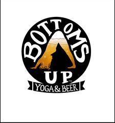 Bottoms Up Yoga & Beer ™ logo