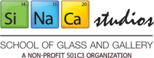 SiNaCa Studios - School of Glass and Gallery logo
