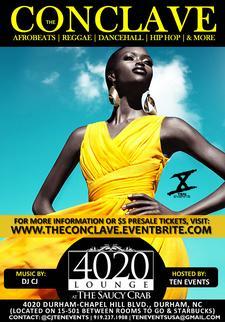 The Conclave {AfroBeats x Hip Hop x Reggae} logo
