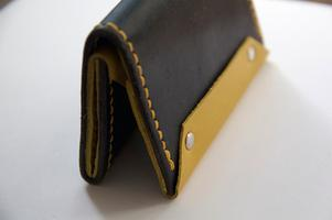Make your own leather wallet leathercraft workshop