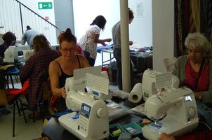 'Provisional Driving' - Introduction to using a sewing...