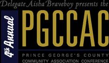 Delegate Aisha Braveboy logo