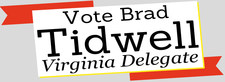 Vote Tidwell for Delegate logo
