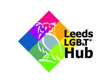 Leeds LGB T* Community Hub logo
