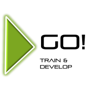 GO! Train and Develop logo