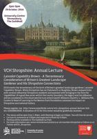 VCH Shropshire Annual Lecture