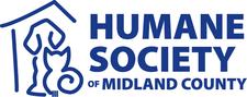 The Humane Society of Midland County logo