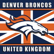 Denver Broncos UK logo