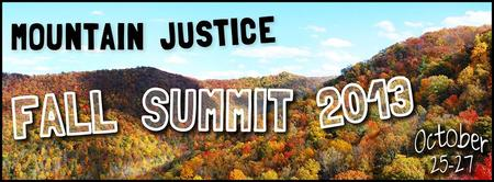 Mountain Justice Fall Summit 2013